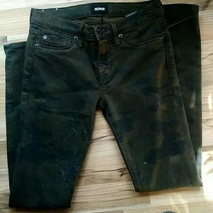 Hudson Woman's Camo Jeans